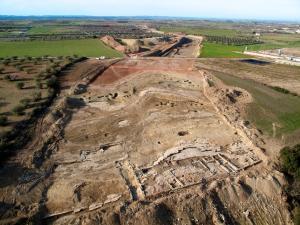 Vista aèria de la Rosella. Fotografia: Desdedalt-Iltirta Aqueologia SL.