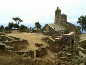 Vista del poblat de Santa Creu de Rodes. Fotografia: Montserrat Mataró