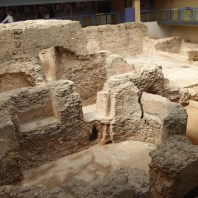 2. Vista de les termes Romanes de Sant Boi de Llobregat