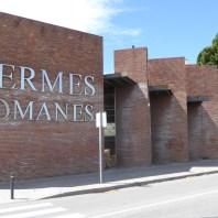 1. Vista de l'edifici que allotja les termes Romanes de Sant Boi de Llobregat