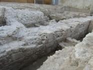 3. Alçat en opus africanum de la muralla romana