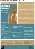 """Cartell del curs: """"La medalla devocional. Art, societat i mentalitat"""", al GN-MNAC"""