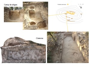 Cisterna i sitges iberomanes del jaciment de Sant Miquel de Sorba (Sorba, Montmajor)