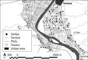 Mapa: Anàlisi del parcel·lari de la zona de les Arenes (Tortosa)