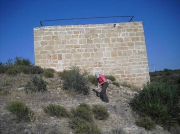 Casa del Temple (Campredó, Tortosa), torre construïda en l'emplaçament d'un assentament andalusí.