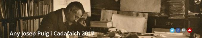 Celebració del 150è aniversari de naixement de Josep Puig i Cadafalch