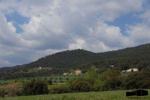 Vista del Turó del Puig del Castell vist des de l'est