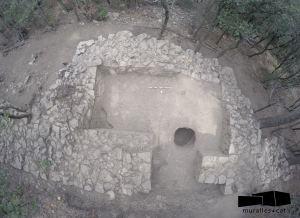 Vista de la torre 6, en procés d'excavació.