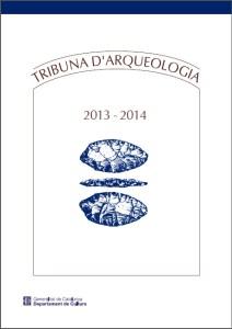 Portada de la revista Tribuna d'Arqueologia 2013-2014