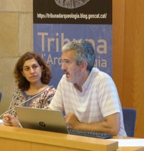 Sessió de la Tribuna d'Arqueologia del 21/6/2017