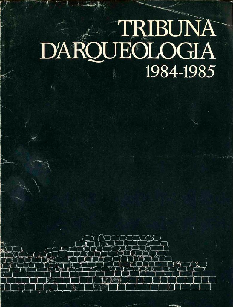 Fulletó 1984-1985