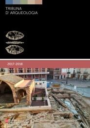 Portada del programa de la Tribuna d'Arqueologia 2017-2018