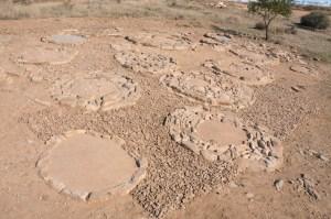 11. Vista general de la necròpolis tumulària d'Almenara un cop acabada la campanya de restauració i consolidació el mes de novembre de 2017 (Foto: Iltirta Arqueologia SL)