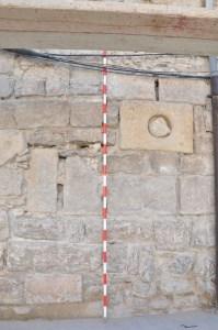Espitlleres de la torre del portal d'Urgell.