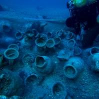 9. Excavació del derelicte trobat a Illes Formigues. Fotografia: CASC