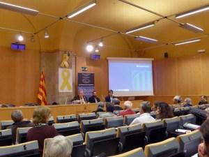 Sessió de la Tribuna d'Arqueologia del 21 de març de 2018. Fotografia: Susana Manzano