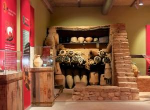 Reconstrucció del magatzem del recinte 2, de la mostra permanent D.O. Vinífera - jaciment ibèric la Font de la Canya, a Avinyonet del Penedès (Alt Penedès)