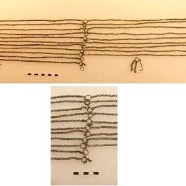 6. Detall de cadenes del conjunt de la Colomina de Bor. Imatge: Centre de Restauració de Béns Mobles de Catalunya, fotògraf: Ramon Maroto
