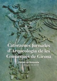 Portada de la publicació de les Actes de les XIV Jornades d'Arqueologia de les Comarques de Girona