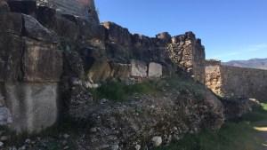 3. Muralla romanorepublicana i torre del carrer de la Torreta. Fotografia: Servei d'Arqueologia i Paleontologia