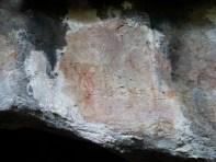 3. Detall de les pintures rupestres un cop netejades. Fotografia: Servei d'Arqueologia i Paleontologia