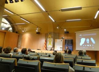 Sessió de la Tribuna d'Arqueologia 2018-2019 del dia 16 de gener de 2019. Fotografia: Tània Álvarez