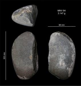 3. Pic miner de corniana recuperat a la superfície dels turons de Montvell.