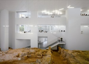 Biblioteca de Ceuta, projecte de Paredes Pedrosa Arquitectos, premi Ex-Aequo de la 2a edició, en la Categoria A. Foto: ©RH0053