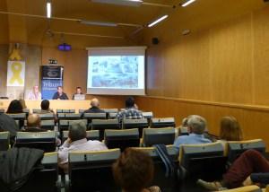 7. Sessió de la Tribuna d'Arqueologia del 27-03.2019. Fotografia: Montserrat Mataró