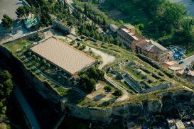 4. Vista aèria del castell Formós