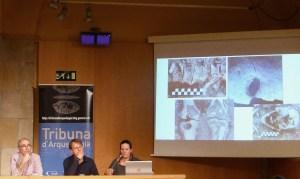 8. Sessió de la Tribuna d'Arqueologia del 27-03.2019. Fotografia: Montserrat Mataró