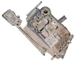 6. Ortofoto de la planta del castell de Segur. Fotografia: Eduard Píriz