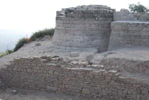 3. Torre nord del castell de Segur. Fotografia: Eduard Píriz
