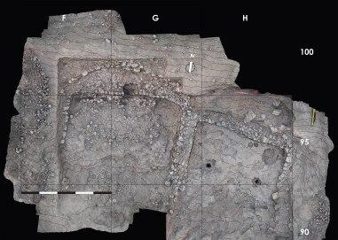 Kharaysin 2. Zona 95 del jaciment de Kharaysin (Jordania). Fotografia: Projecte Nahal Efe i Projecte Kharaysin