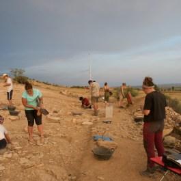 1. Treballs d'excavació durant la campanya de 2019. Fotografia: Iltirta Arqueologia