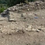 7. Estructures adossades a la muralla i localitzades al Sector 1 del Pla del Castell. Imatge: A. Gómez.