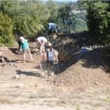 10. Treballs en curs de realització al sector 2 del Pla del Castell. Imatge: A. Gómez.