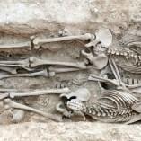 6. Soldats republicans recuperats en una de les fosses del Soleràs. Fotografia: Iltirta Arqueologia
