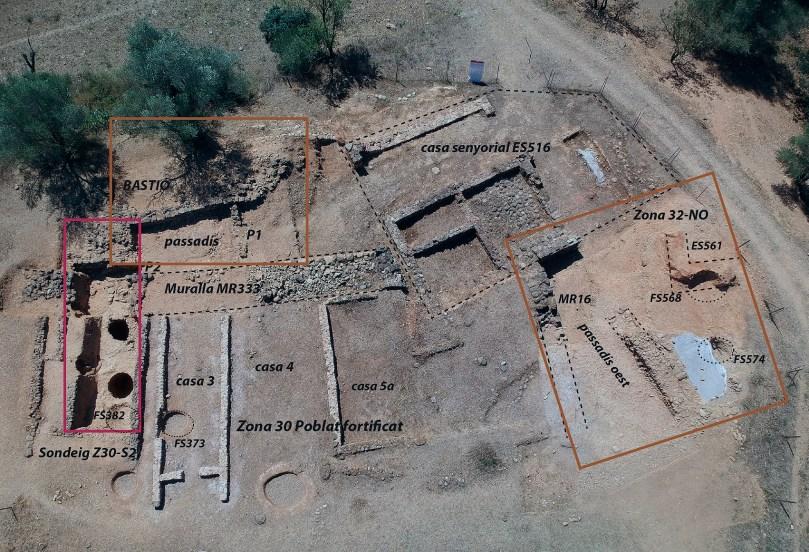 2. Vista general de la zona 3 del Camp de Dalt