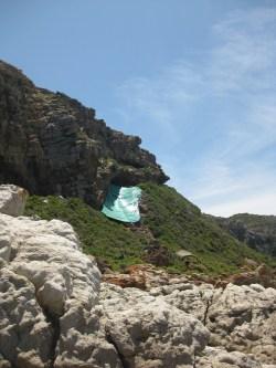 Vista del jaciment de Pinnacle Point 5-6