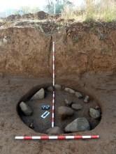 7-Sitja alt medieval reblerta de pedres del s. X-XI (autor: Jordi Roig-Arrago, 2015).
