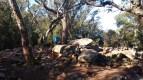 3. Documentació del Dolmen de Can Reparat de Santa Cristina d'Aro (Fot. Esther Medina)