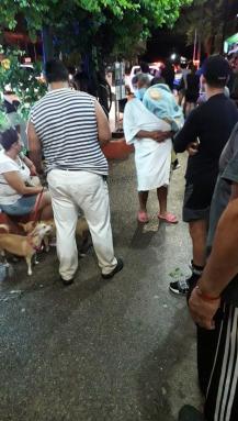 evacuees from hotel garlands del rio