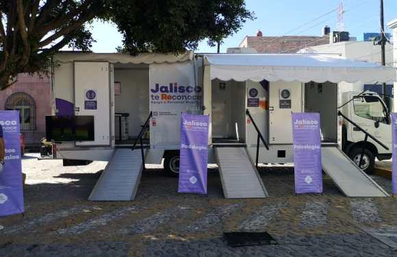 Llega a Unión de San Antonio la Unidad Móvil del programa Jalisco te Reconoce