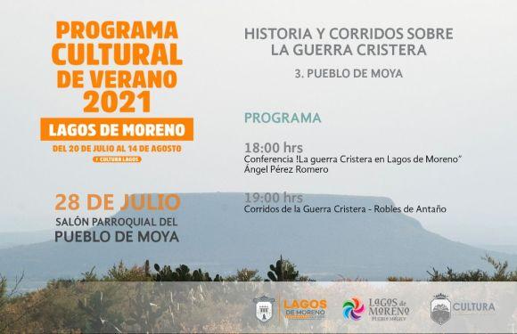 Talentos laguenses se presentan en el programa cultural de verano 2021
