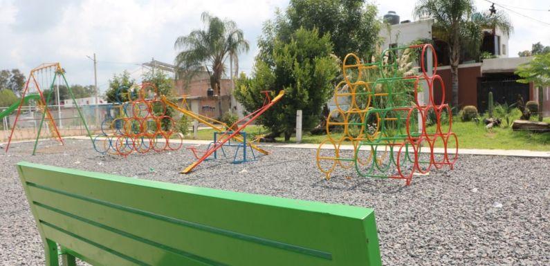 Colonia Las Huertitas cuenta con nuevo Parque Lineal