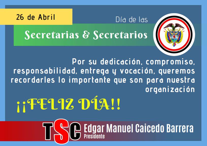 Día de la Secretaria TSC