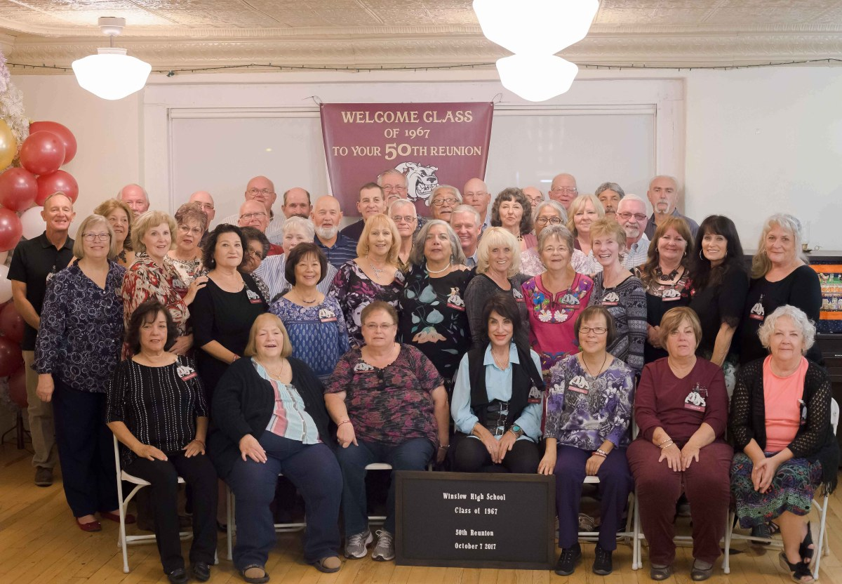 Members of WHS Class of 1967 enjoy an outstanding reunion