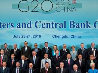 World leaders at the G20 summit held in China recently. GETTYIMAGE