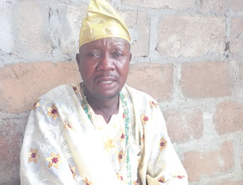 Chief Sylvester Agboola, Asiwaju of Egun people, Ajibawo